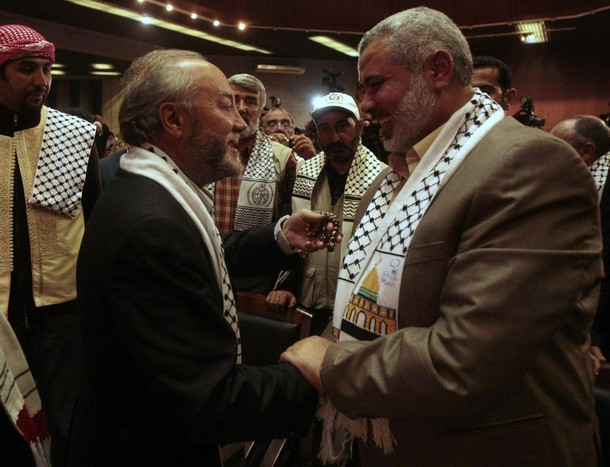 Galloway Haniyeh - Reuters