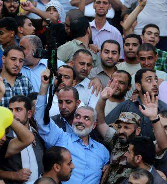 haniyeh rally
