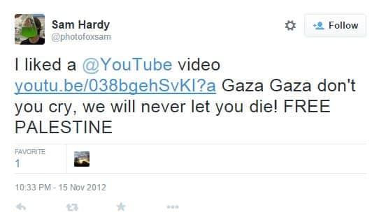 hardy tweet