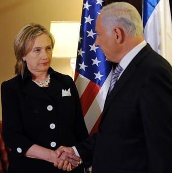 Hillary Clinton Binyamin Netanyahu