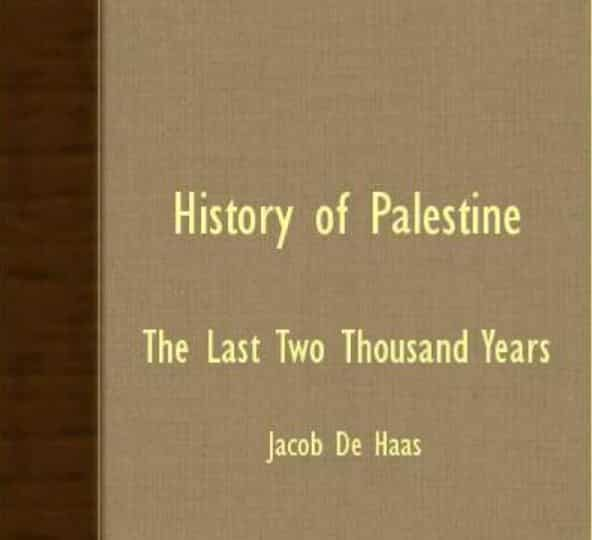 History Of Palestine - The Last Two Thousand Years