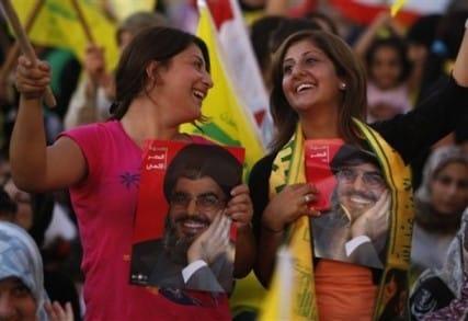 hizbullah supporters - AP