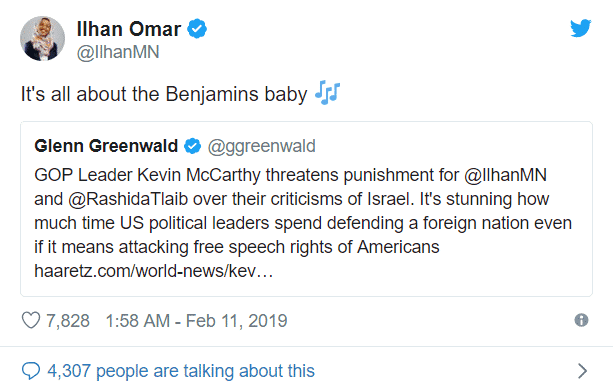 rep  ilhan omar doubles down on her antisemitism