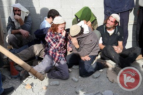 injured settlers