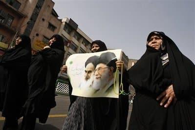 Iranian protest - AP