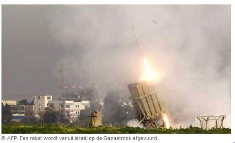 iron dome intercepting