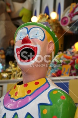 laughing-clown-at-an-amusement-park