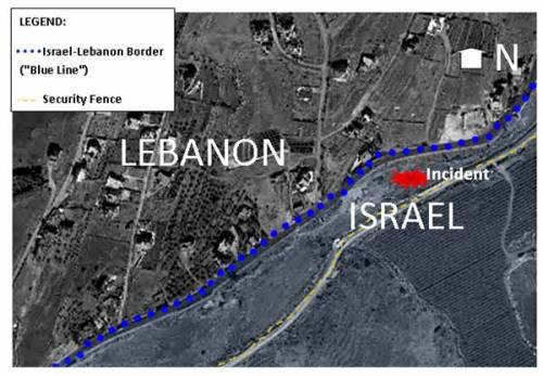 lebanon border