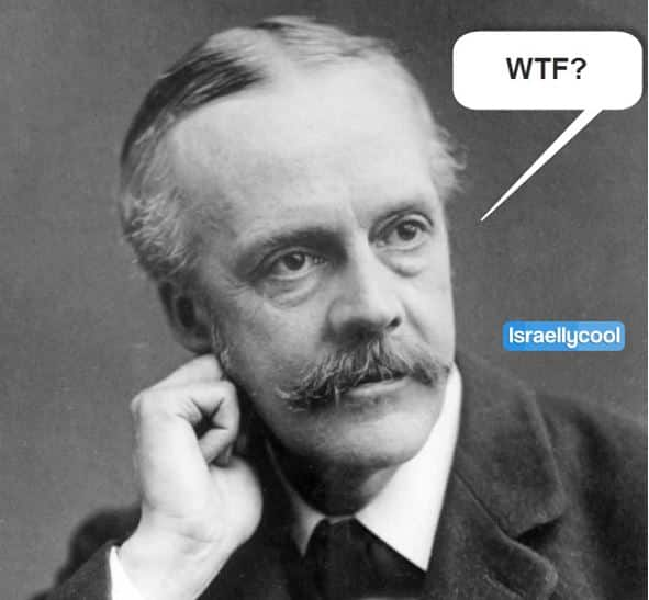 lord balfour wtf 1