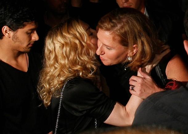 Madonna Tzipi Livni AFP/Getty Images