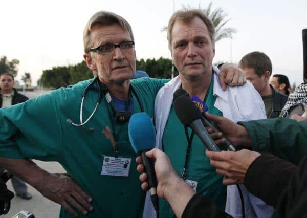 Mideast Egypt Israel Palestinians Norwegian Doctors