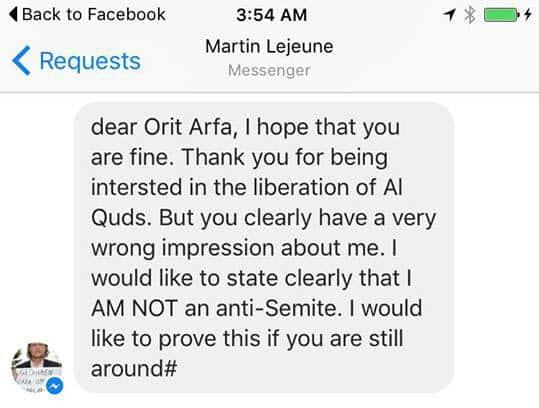 martin message