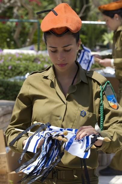 female IDF soldier