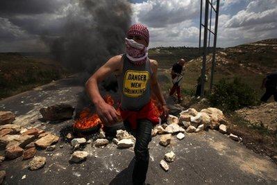 palestinian protestor