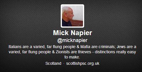 mick napier twitter profile