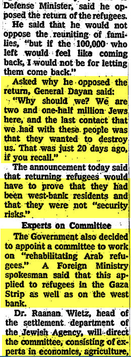 ny times archives allow refugees 1967 2