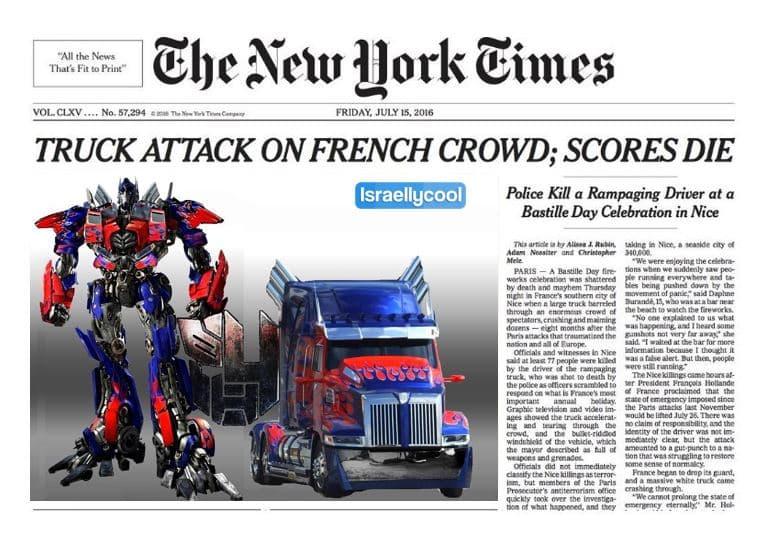 optimus prime headline