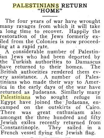 palestinian return home