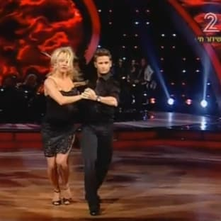 pamela anderson dancing with stars