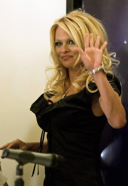 Pamela Anderson Israel