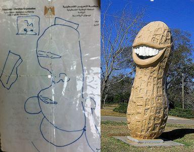 peanut map