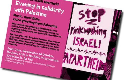 pinkwashing leaflet