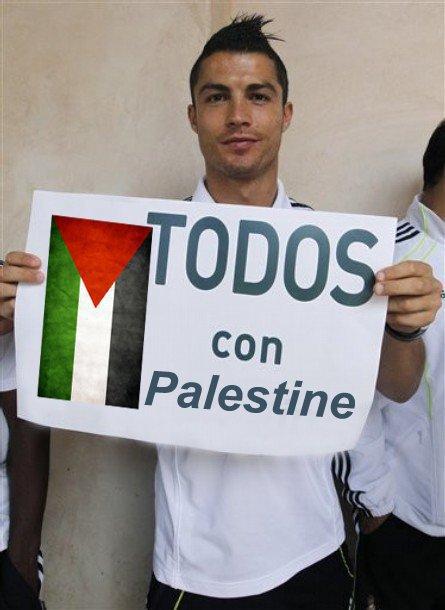 ronaldo palestine