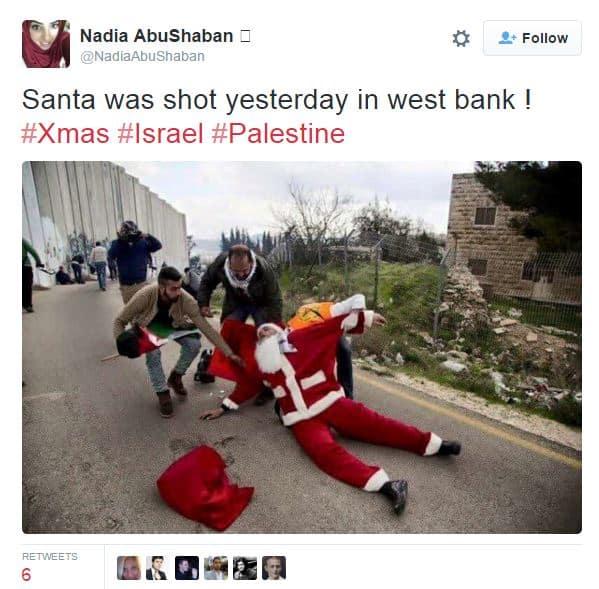 santa tweet