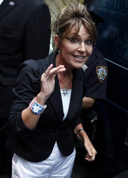 Sarah Palin star of david