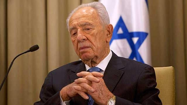 Billedresultat for shimon peres