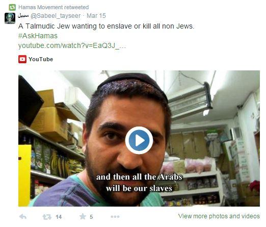 talmudic jew tweet