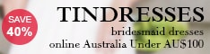 Bridesmaid Dresses Online Australia - TinDresses.com