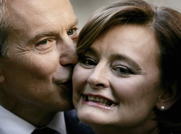 Tony Cherie Blair
