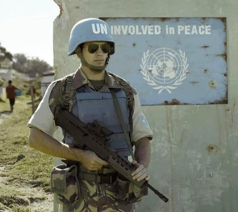 un involved in peace