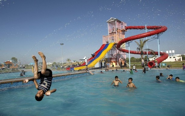 Khan Younis water park