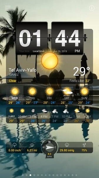 Weather+ App Rains on Our Parade | Israellycool
