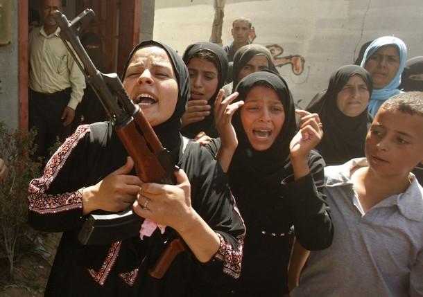 palestinian woman gun